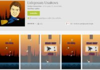 Rīgas mērs ir sajūsma par mobilo spēli Lidojošais Ušakovs