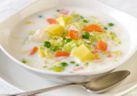 Recepte: Piena zupa ar dārzeņiem