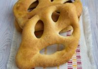 Recepte: Franču maize Fougasse (fugas)