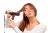 Cirtu savaldīšana, matus taisnojot: iespējas mājās un salonā