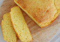 Recepte: Pašu rokām gatavota kukurūzas maizīte ar sieru