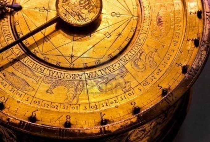 7505348-old-astrology-clock-with-golden-zodiac-symbols