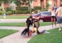No amata atkāpjas policists, kas brutāli izrīkojās pret 15 gadīgu meiteni