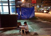 Zēnu pamanīja, kad viņš mācījās gaismā pie «Makdonalda» – tas mainīja visu viņa dzīvi