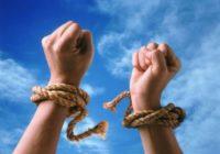 No kā Tu patiesībā centies atbrīvoties, ja tiecies pēc brīvības?
