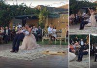 Labākā kāzu pirmā deja kāda redzēta? Jums acis izpletīsies no pārsteiguma