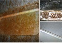Kā viegli tīrīt cepeškrāsni – atbrīvoties no cepeškrāsns netīrumiem. Vīramātes padoms!