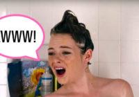 10 pretīgākās lietas, ko katra sieviete ir darījusi dušā #6– atzīsti to!