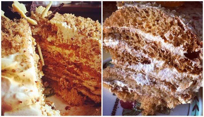 medus kūkas cepšana recepte
