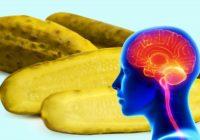 Lūk, kas notiks ar tavu ķermeni, ja tu katru dienu apēdīsi 1 sālītu gurķi