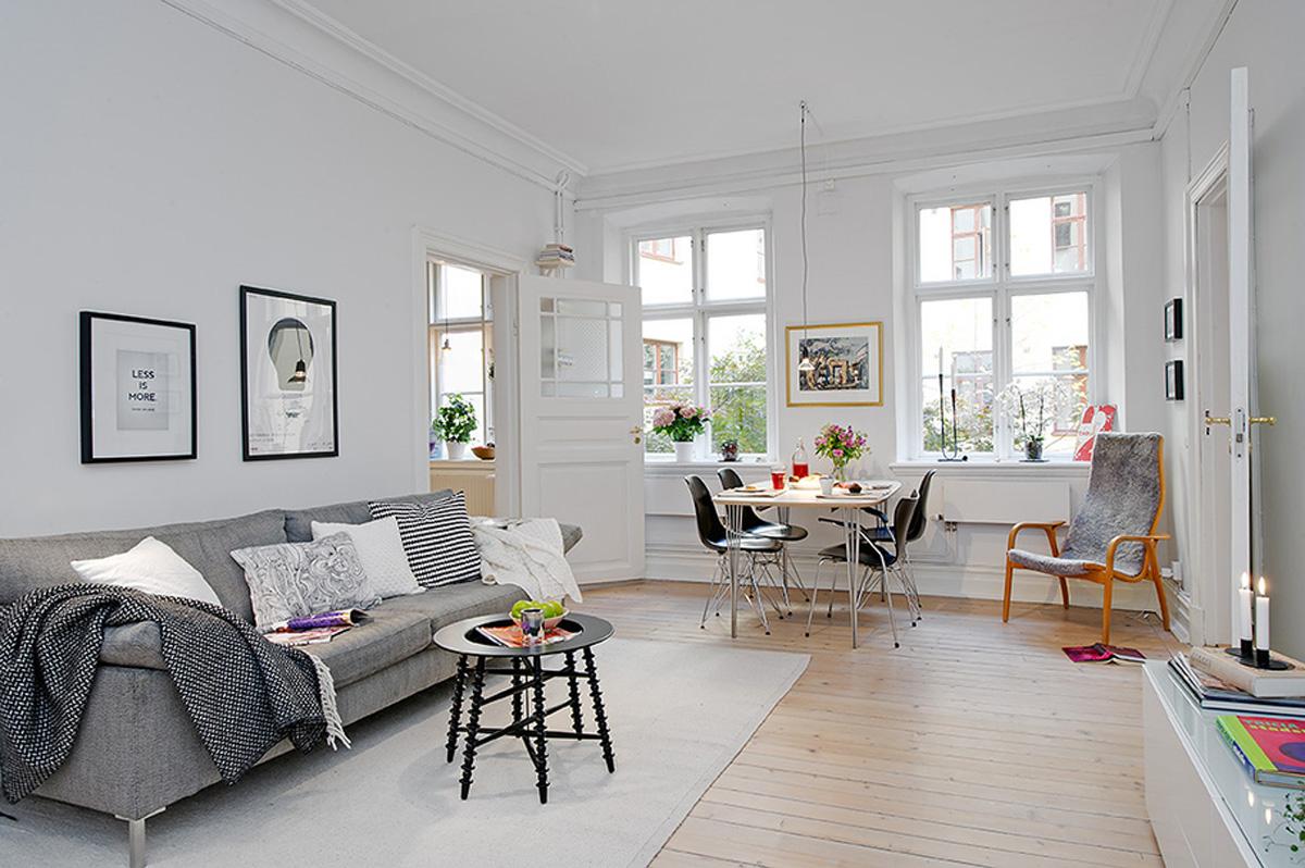 5 iedvesmojo i veidi k izmain t telpas izskatu par 100 for Beautiful flats interior
