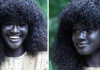 """Melanīna Karaliene"" satriec internetu ar savu neticami skaisto, tumšo ādu"