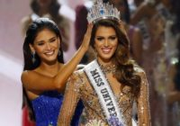 """FOTO: """"Miss Universe"""" skaistumkonkursā uzvar Francijas skaistule!"""