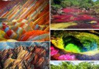 Psihedēlija dabā – ieskaties un uzzini, kur atrodas vietas, kas spēj hipnotizēt!