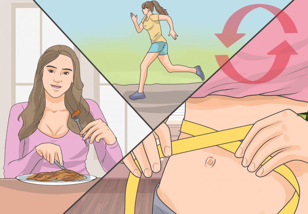 kā veselīgi nomest svaru