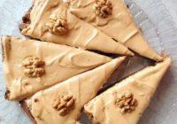 Valriekstu kūka tiem, kuri nelieto kviešu miltus