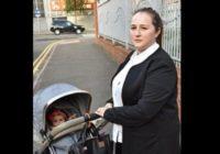 Mātei Anglijā nākas izķert savu mazuli no bērnu zogošas indietes rokām!