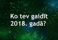 Ko tev atnesīs 2018. gads? Stāsta astroloģe Inguna Balgalve