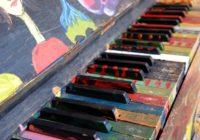 Kuldīgā atklās apgleznotas klavieres