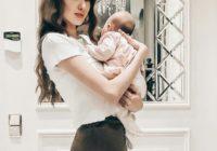 Anastasija Kostenko atbildēja uz jautājumiem par grūtniecību un atjaunošanos pēc dzemdībām