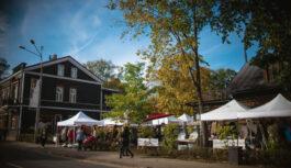 Ikgadējais Aukstās modes tirgus Kalnciema kvartālā 5.oktrobrī