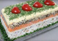 Recepte salātiem ar šampinjoniem – jauna recepte, ar ko pārsteigt viesus svētkos