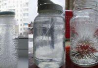 Lai pārbaudītu, vai māja ir noskausta, vajadzīgs tikai sāls un ūdens