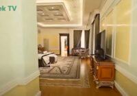Internetā parādījušies Krievijas bagātākā cilvēka mājas FOTO un VIDEO; Apsēdies pirms skaties